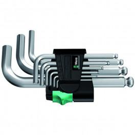 Набор Г-образных ключей Wera 950 PKS, 9 шт. 1,5 - 10 мм