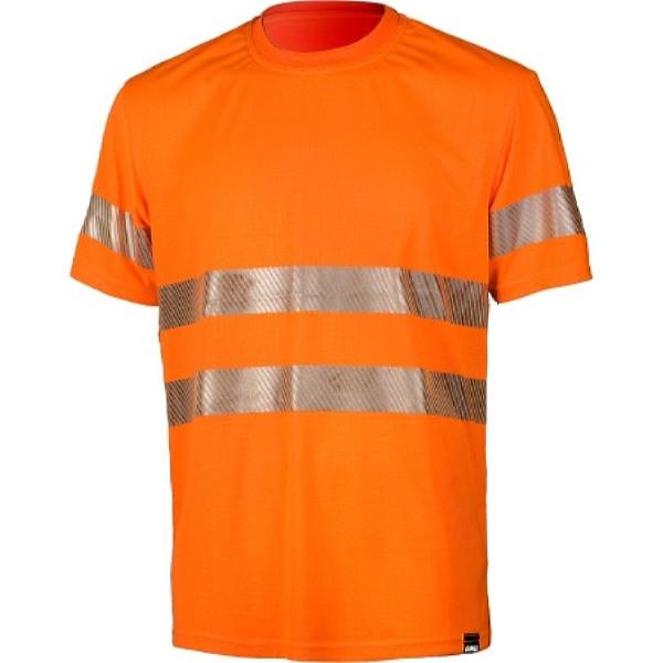 Сигнальная футболка Dimex 4059+, сигнальный оранжевый