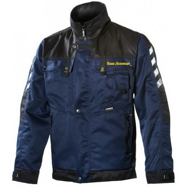 Рабочая куртка Dimex 1000V, темно-синий/черный