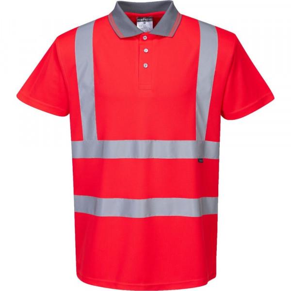 Светоотражающая футболка Portwest S477 сигнальный красный