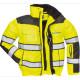 Зимняя светоотражающая куртка Portwest C466 3в1, сигнальный жёлтый/черный
