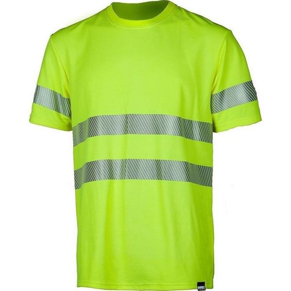 Сигнальная футболка Dimex 4058+, сигнальный желтый