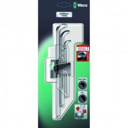 Набор Г-образных ключей Wera WE-073594, 9 шт