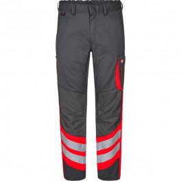 Рабочие брюки Engel Cargo 2870-217, сигнальный красный/серый