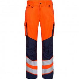 Рабочие брюки Engel Safety 2545-319, сигнальный оранжевый/синий