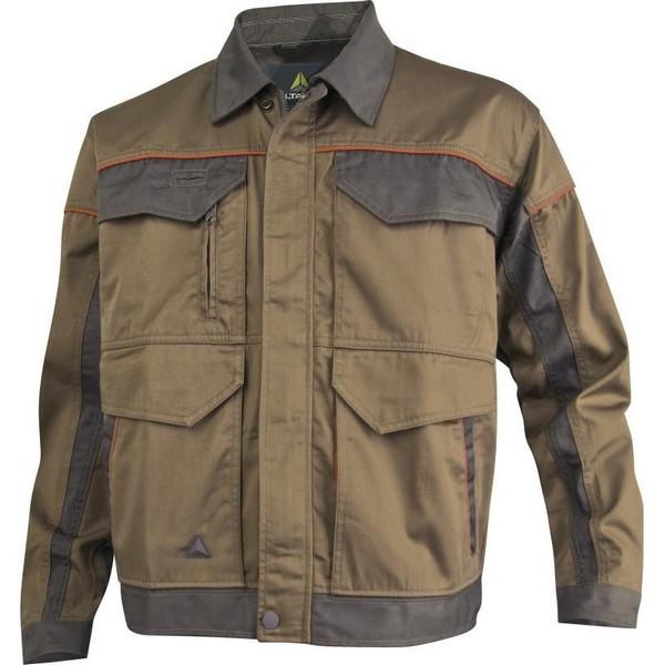 Рабочая куртка Delta Plus MCVes, хаки/серый
