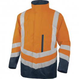 Утепленная куртка-парка OPTIMUM2 4 в 1, сигнальный оранжевый/синий