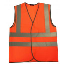 Сигнальный жилет Brodeks модель-2, оранжевый