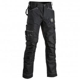 Рабочие брюки Dimex Attitude 3.0 60601, черный/серый