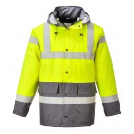 Зимняя светоотражающая куртка Portwest  S466 серый