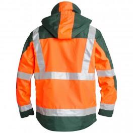 Куртка Engel Safety 1001-928, оранжевый/зеленый