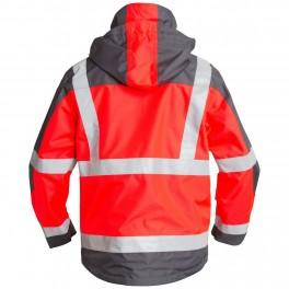 Куртка Engel Safety 1001-928, красный/серый