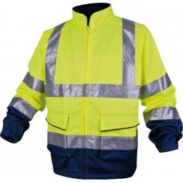 Светоотражающая куртка Panoply Delta Plus PH Ves, сигнальный желтый/синий