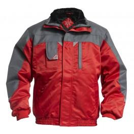 Куртка Engel Enterprise 1970-912, красный/серый
