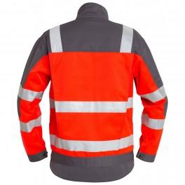 Куртка Engel Safety 1501-770, красный/серый