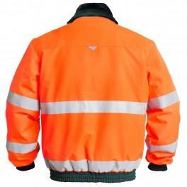 Куртка Engel Safety 1970-914, оранжевый/зеленый