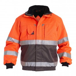 Куртка Engel Safety 1970-914, оранжевый/серый