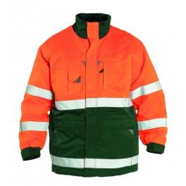 Куртка Engel Safety 1980-914, зеленый/оранжевый