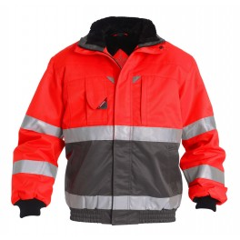 Куртка Engel Safety S1970-928, красный/серый
