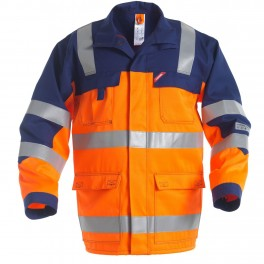 Куртка Engel Safety + 1235-830, оранжевый/синий