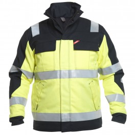 Зимняя куртка Engel Safety + 1935-820, сигнальный желтый/черный
