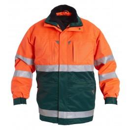Куртка Engel Safety 1995-914, зеленый/оранжевый
