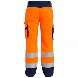 Брюки Engel Safety 2501-775,оранжевый/синий
