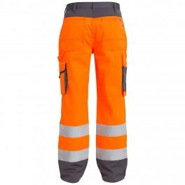 Брюки Engel Safety 2501-775,оранжевый/серый