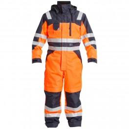 Комбинезон Engel Safety 4201-928, сигнальный оранжевый/темно-синий