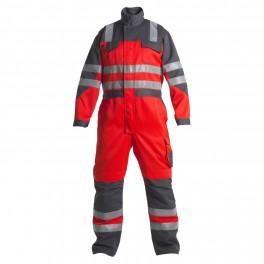 Комбинезон Engel Safety 4601-425,серый/красный