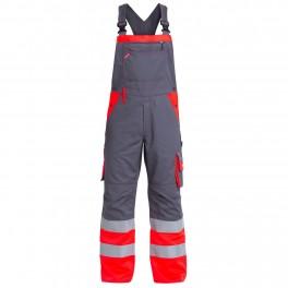 Полукомбинезон Engel Safety 3505-785, сигнальный красный/серый