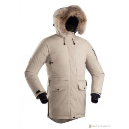 Женская пуховая куртка БАСК IREMEL, беж (9515)