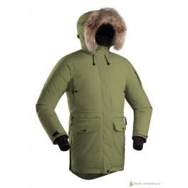 Женская пуховая куртка БАСК IREMEL, хаки светлый (9542)