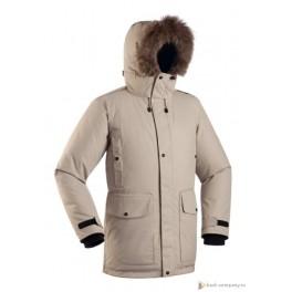 Мужская пуховая куртка-парка БАСК PUTORANA HARD, беж (9515)