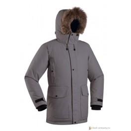 Мужская пуховая куртка-парка БАСК PUTORANA HARD, серый (9609)