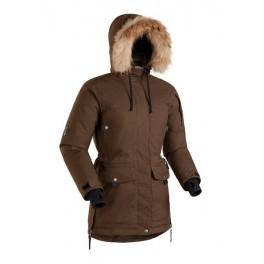 Женская пуховая куртка-парка БАСК IREMEL SOFT, коричневый