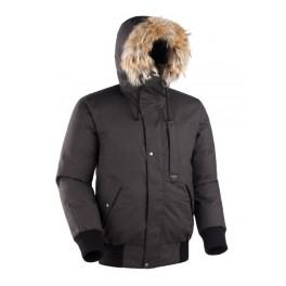 Мужская короткая куртка-парка БАСК TOBOL, черный