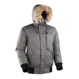 Мужская короткая куртка-парка БАСК TOBOL, серый