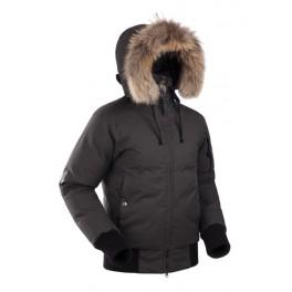 Женская пуховая короткая куртка БАСК YGRA SOFT,черный