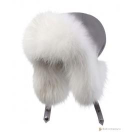 Женская меховая шапка БАСК OYMIAKON LH, серый