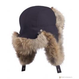 Мужская меховая шапка БАСК OYMIAKON MH, синий