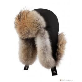 Мужская меховая шапка БАСК OYMIAKON MH,черный