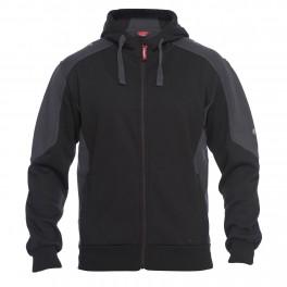 Флисовая куртка Engel Galaxy Sweat Cardigan 8820-233, Черный/серый