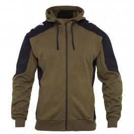 Флисовая куртка Engel Galaxy Sweat Cardigan 8820-233, Хаки/черный