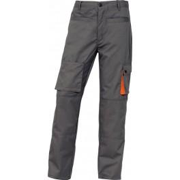 Рабочие брюки Delta Plus M2Pan, серый/оранжевый