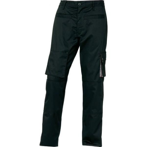 Рабочие брюки Delta Plus M2Pan, черный/серый