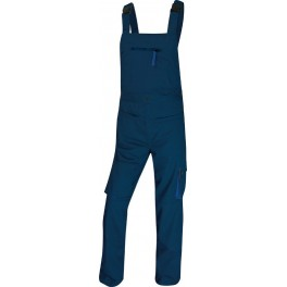 Рабочий полукомбинезон Delta Plus M2Sal, темно-синий/синий