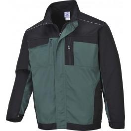 Рабочая куртка Portwest TX33, Зеленый/черный