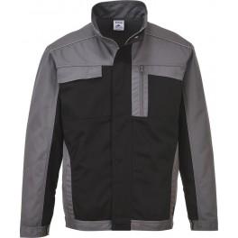 Рабочая куртка Portwest TX33, Черный/Серый