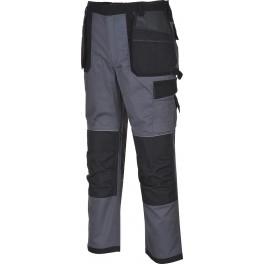 Рабочие брюки Portwest TX32, Серый/черный
